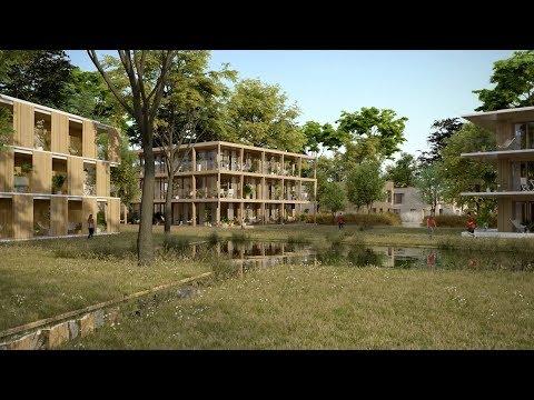 Un nouveau quartier à Versailles entre le domaine du Château et Saint-Cyr-l'École