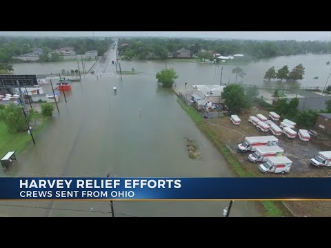 Ohio Task Force 1 helping to rescue stranded flood victims in Texas
