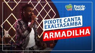 Pixote canta Exaltasamba - Armadilha (FM O Dia)