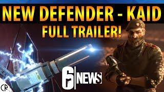 Full Trailer - New Defender Kaid! - 6News - Tom Clancy's Rainbow Six Siege