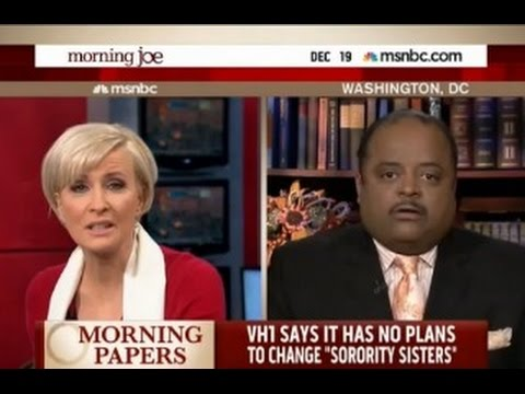 "Thumbnail: Roland Martin and Mika Brzezinski SCREAM at Each Other Over Black Reality Show ""SORORITY SISTERS"""