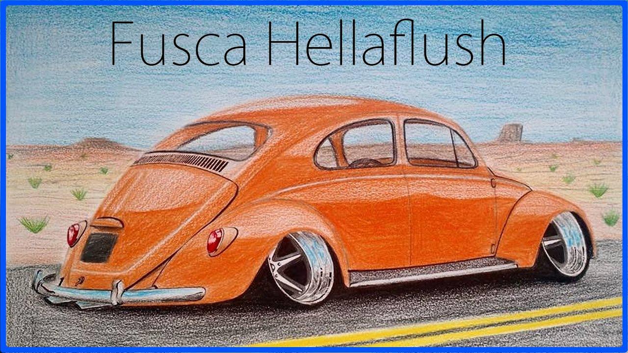 Desenho De Fusca: Desenho De Fusca Rebaixado Pictures To Pin On Pinterest