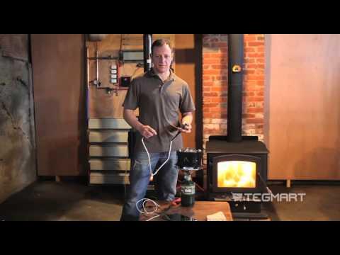 Devil Watt 10 Watt Propane Cook Stove Thermoelectric Generator