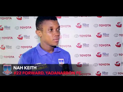 TMCC 2016 Interview with Nah Keith #22 Forward for Yadanarbon FC