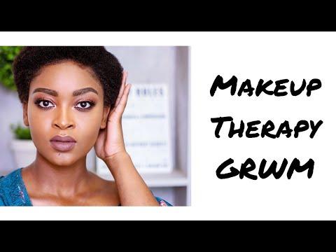 makeup-therapy-grwm- -nosipho-mhlanga