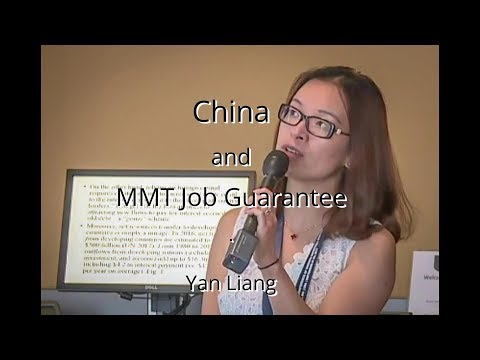 China and MMT Job Guarantee  Yan Liang