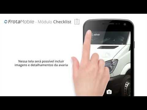 Realização de um Checklist no Frota Mobile - GUBERMAN
