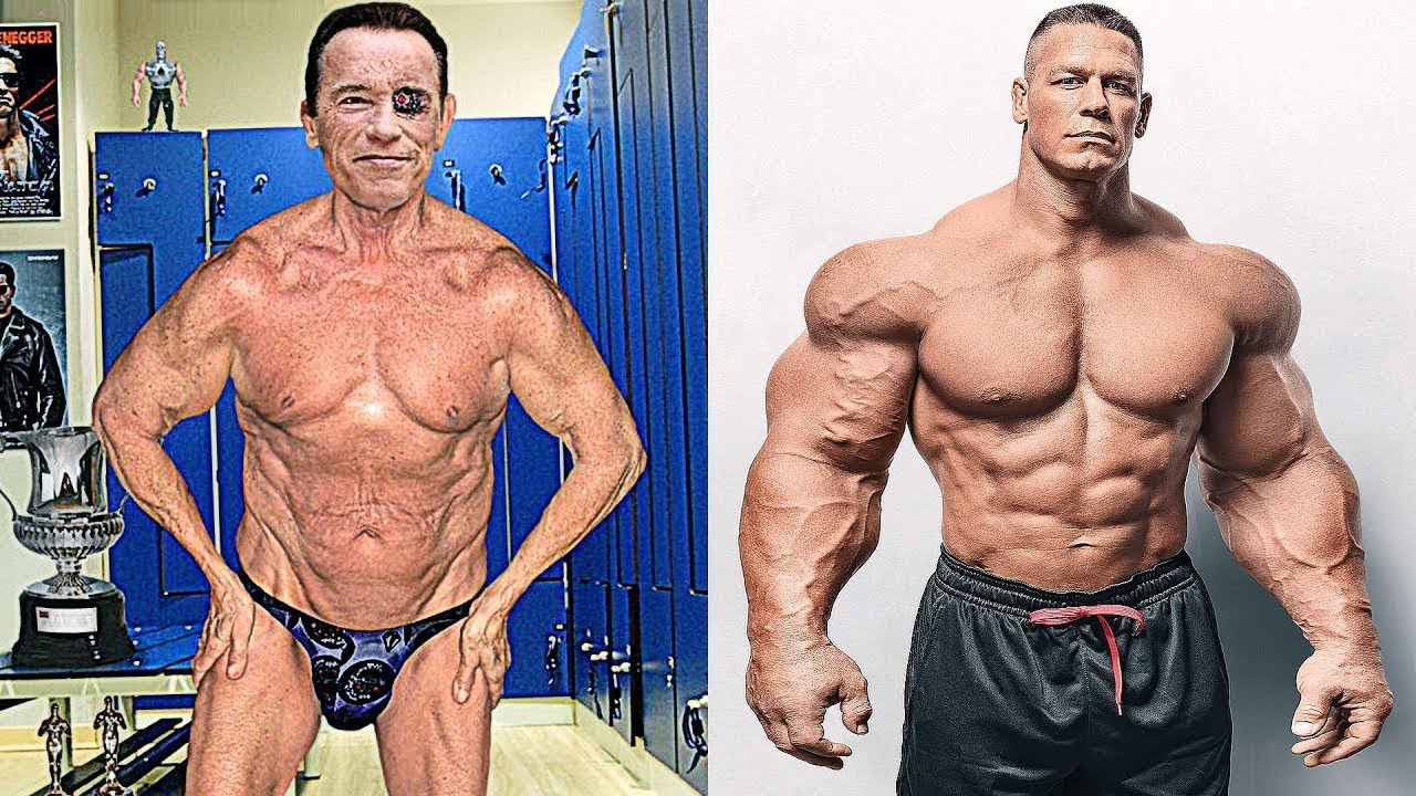 Arnold Schwarzenegger vs John Cena Transformation ☆ 2018 - YouTube 989dc418d