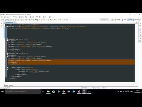 How to Generate java class from xml schema