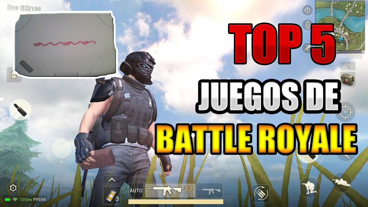 Top 5 Juegos Battle Royale Para Canaimas Pc De Pocos Requisitos