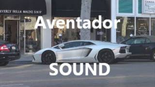 MATTE White Lambo Aventador in Beverly Hills-SOUND and Overview!