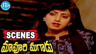 Maavoori Magaadu Telugu Movie Scenes - Suthivelu, Gollapudi Maruti Rao, Sridevi Best Scene