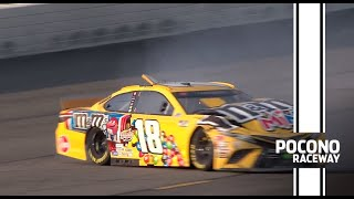 Kyle Busch, Ryan Blaney tangle at Pocono | NASCAR Cup Series
