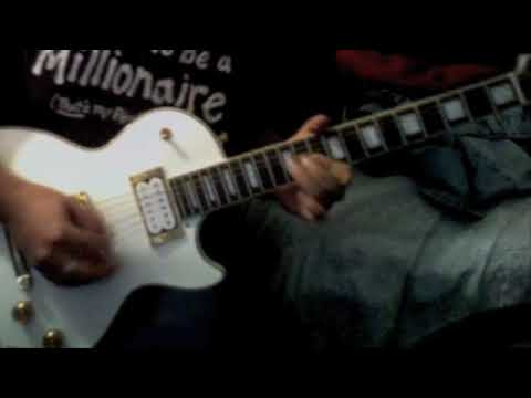 guns n roses breakdown guitar solo cover youtube