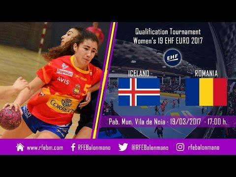 QT Women's 19 EHF EURO 2017 | Iceland : Romania