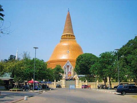 Phra Pathom Chedi, Bangkok, Thailand - YouTube