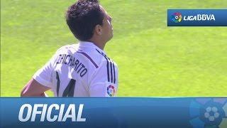 Gran partido, gol y titularidad de Chicharito