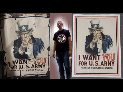 Uncle Sam - I WANT YOU - 1917  Poster Fix