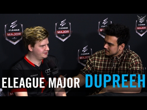 Dupreeh gets personal, opens up about his struggles and what he's fighting for at ELeague Major