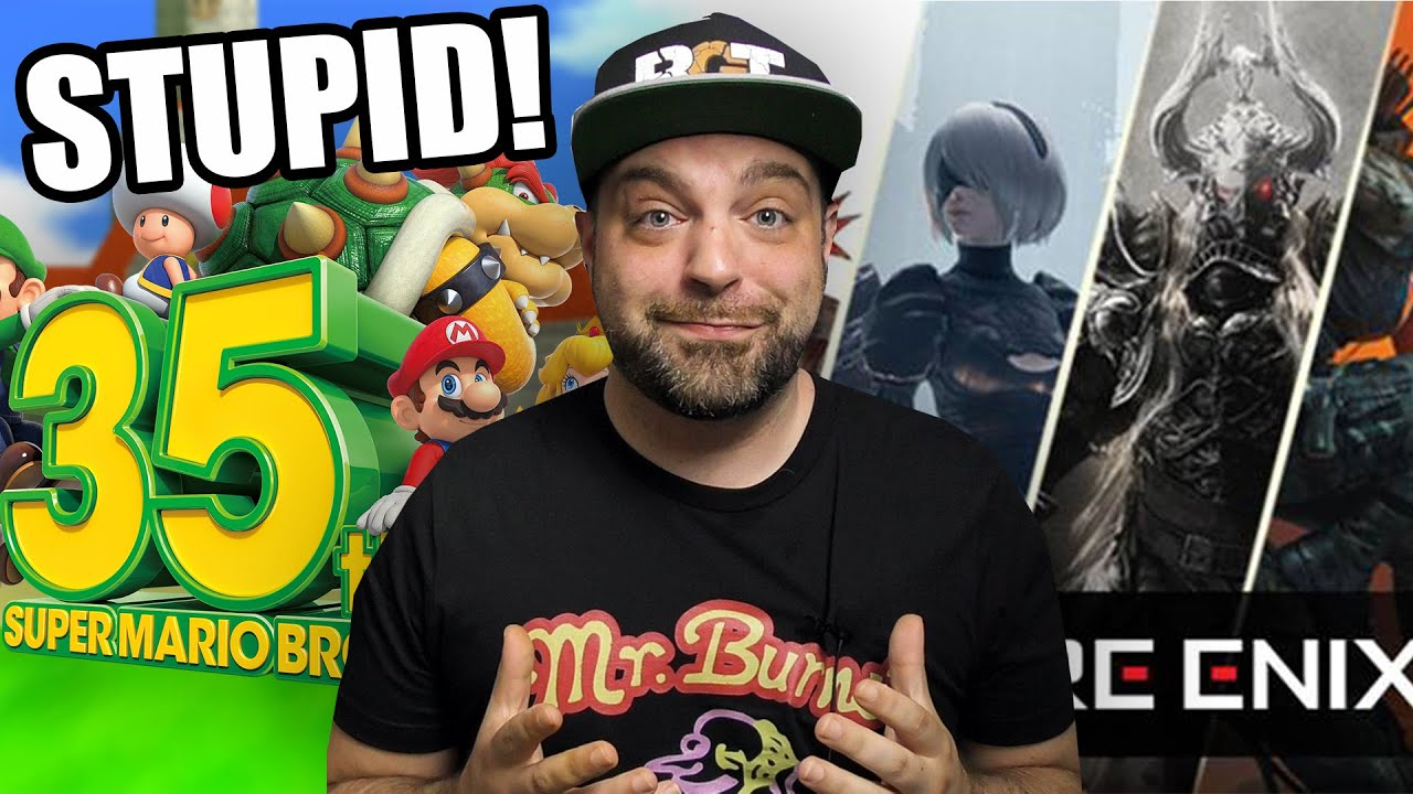 Nintendo Updates Super Mario 35th Removal? + MORE Square-Enix Remakes Coming!
