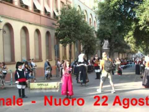 Download Sfilata del Redentore - Nuoro 22 Agosto 2010 - Gruppo Folk Mascara a Gattu e Maimone di Sarule.avi