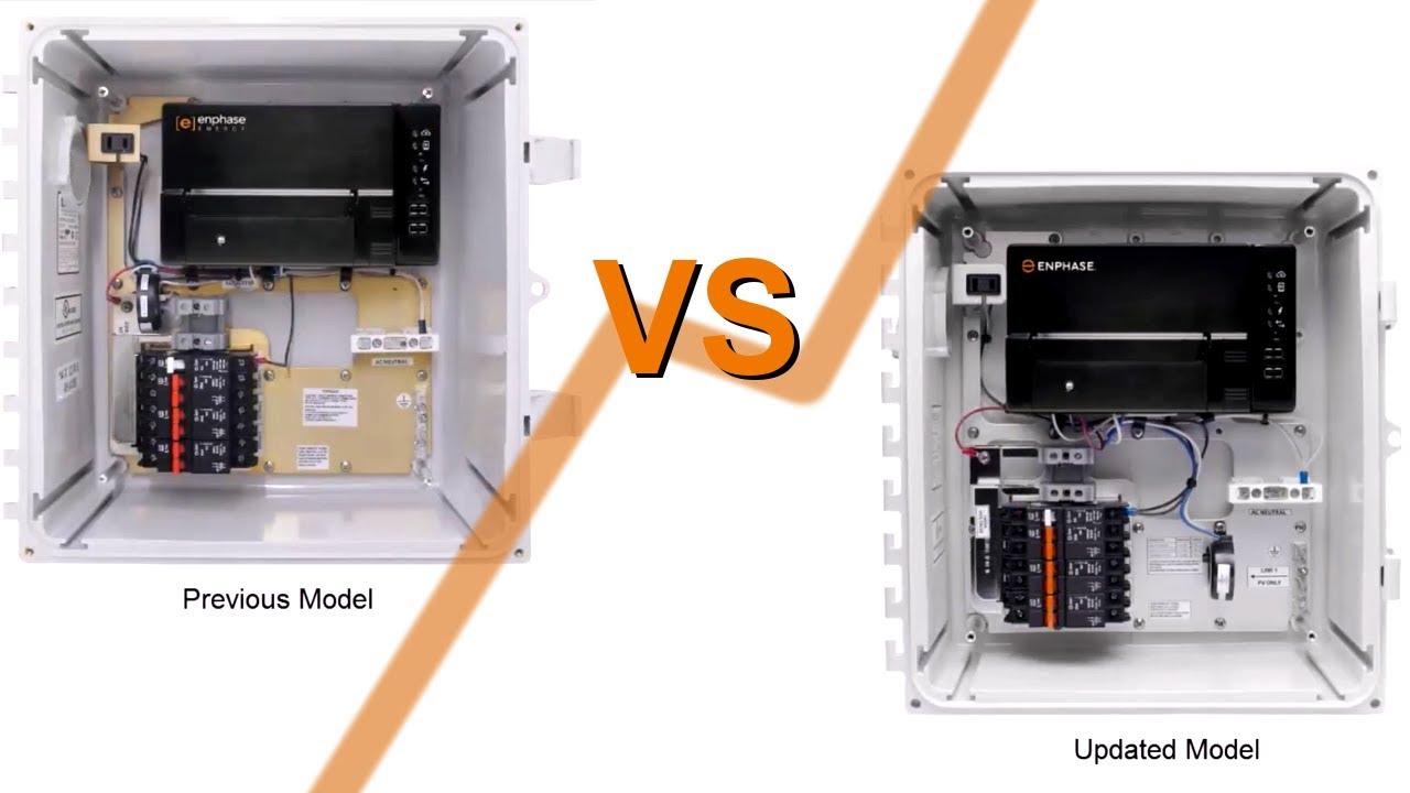 medium resolution of new enphase ac combiner box vs previous version comparison renvu