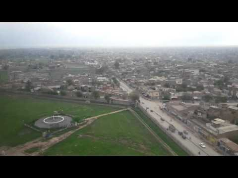Peshawar airport landing may 2014