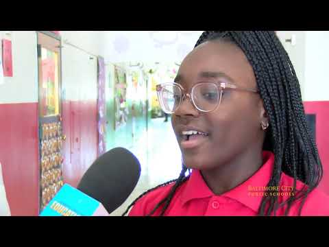 Imani Visits Baltimore International Academy
