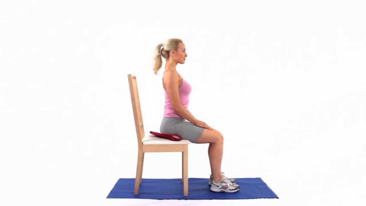 How to apply Heat for ischial bursitis sitting - YouTube