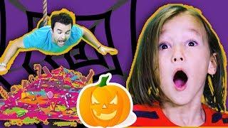 Johny Johny Yes Papa | Halloween | Did Daddy Take Johny's Candy?