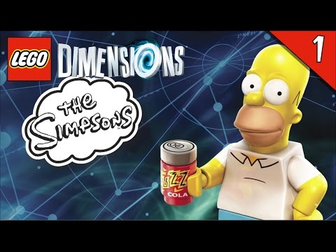LEGO Dimensions - Unboxing & gameplay fr Vague 1 | Family geek