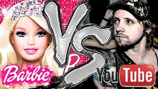 BARBIE VS YOUTUBE | QuizTime #4 /w karolek