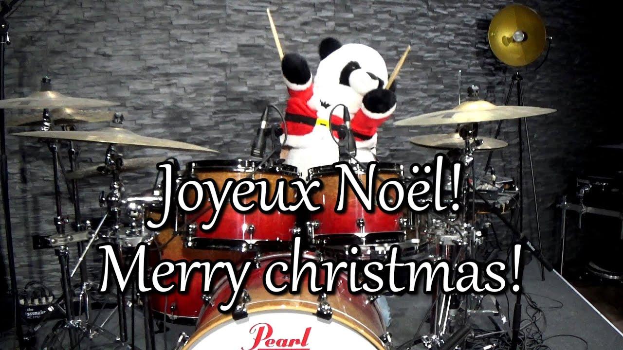 Jingle Bells Panda drummer!