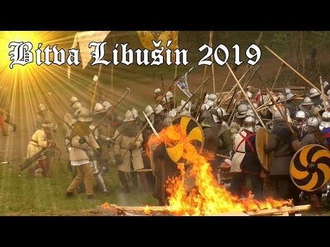 Bitva Libušín 2019 - Historický festival, historical festival, historischen Festivals