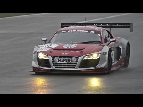 Audi R8 LMS Ultra Race Car at Nurburgring - /CHRIS HARRIS ON CARS