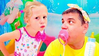 Nastya cerita baru, bagaimana seharusnya anak-anak tidak berperilaku
