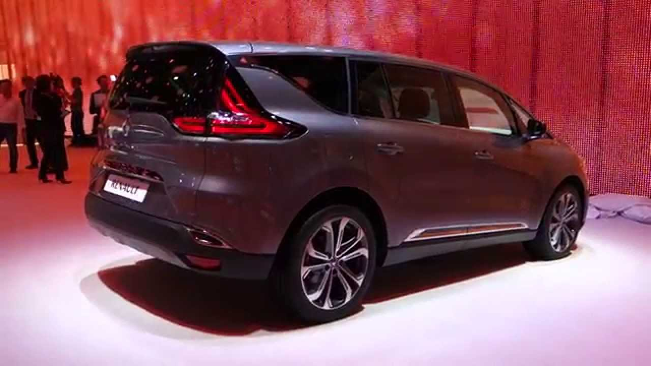 2015 renault espace v mondial de paris l 39 argus youtube. Black Bedroom Furniture Sets. Home Design Ideas