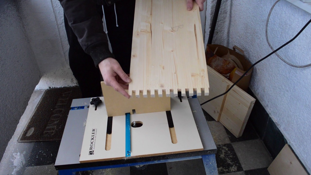 5e8 Project Solid Pine Finger Joint Cabinet Build Part 1