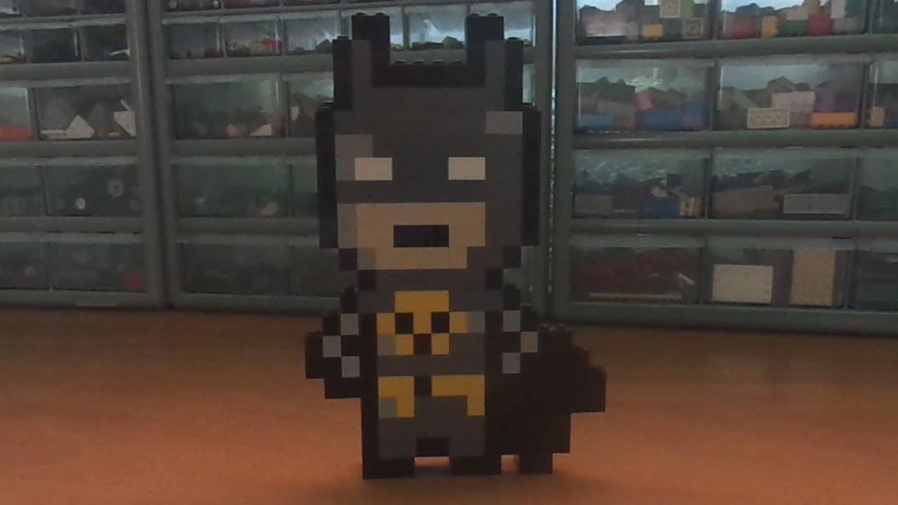 Pixel Art Lego - Batman  Mr  P