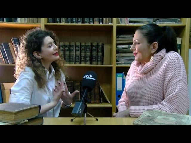 Ο Κώστας Παπακοσμάς και η Κατερίνα Κουμανίδου στο ENA Channel