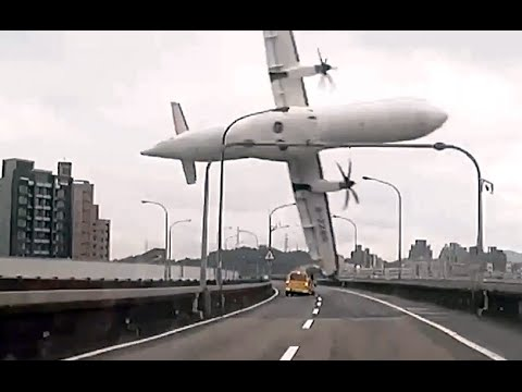 Taiwan plane crash: TransAsia Airways ATR 72-600 disaster