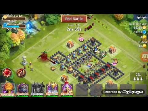Grimfiend Too OP! New Castle Clash Hero