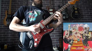 White Lung - Kiss Me When I Bleed (Guitar Playthrough)