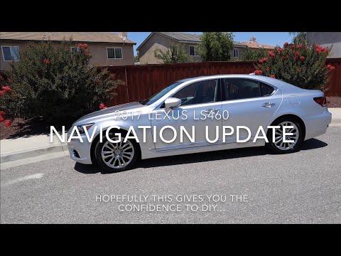 2017 Lexus LS460 Navigation Infotainment Map Update How To DIY Repair LS460L Easy Simple Fix