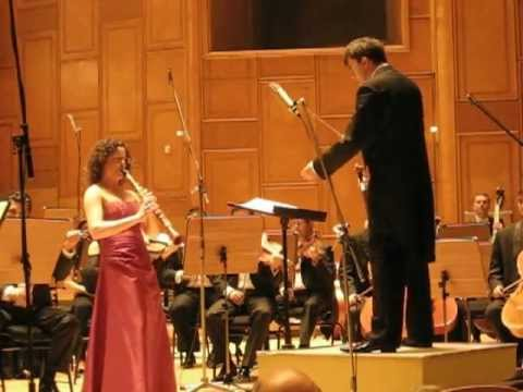 Shirley Brill performs Weber Clarinet Concerto Op.74, I. Allegro