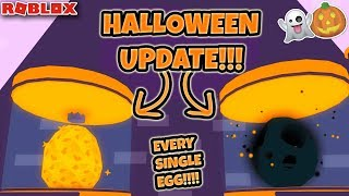 BUYING ALL OF THE EGGS IN ROBLOX PET SIMULATOR.. **HALLOWEEN UPDATE** 👻🎃