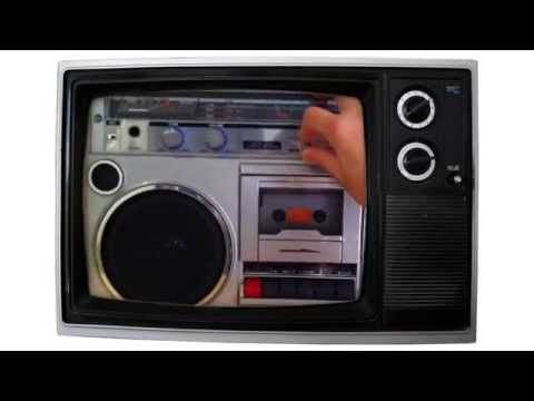 radio cassette retro el radio cassette mas retro de los 80 youtube. Black Bedroom Furniture Sets. Home Design Ideas