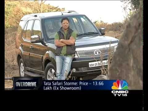 2012 Tata Safari Storme in India road test