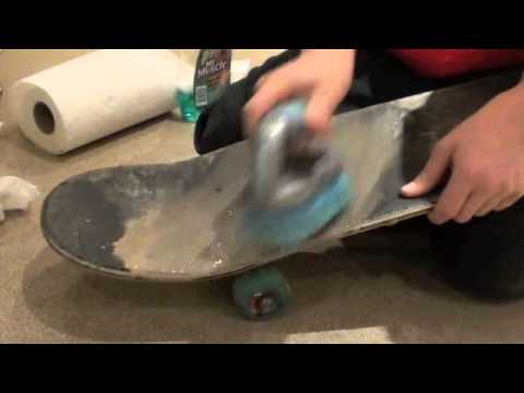How to Clean Griptape