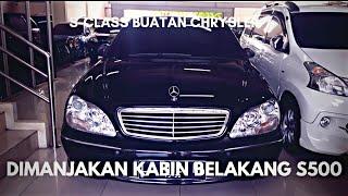 Mercedes Benz S500 W220 PreFL Tour Review Indonesia